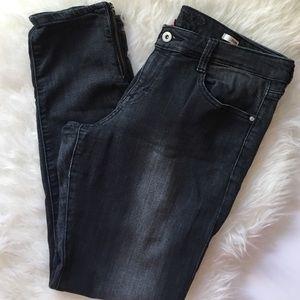 Denim - black jeggings jeans