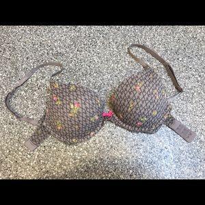 Victoria's Secret Other - Victoria's Secret Plunge Cotton Push-up Bra 32D