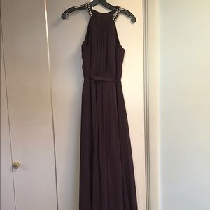 Jenny Packham Dresses & Skirts - Jenny packham plum bridesmaid dress