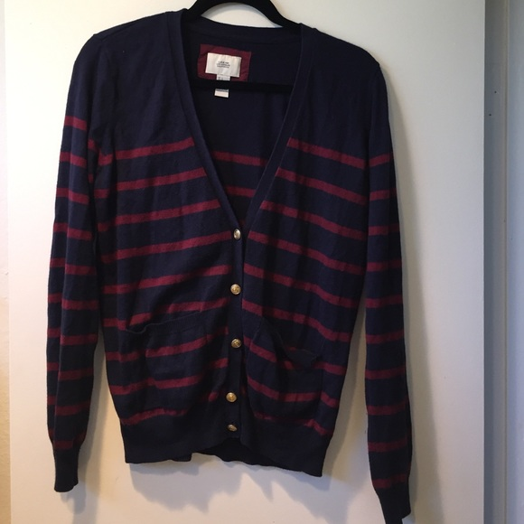 Forever 21 Sweaters - Red   Blue Striped Sweater 68fbf9f05