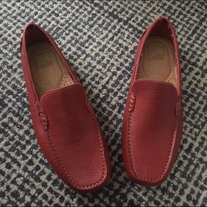 14th & Union Other - 14th & Union Men Red Leather Loafers