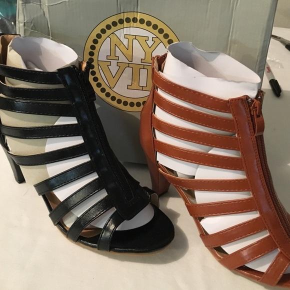 Ny Vip Gladiator Sandals Szs 85