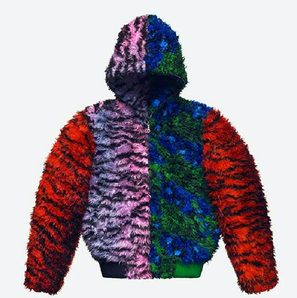 ebac7455d Kenzo Jackets & Coats | 2016 X Hm Release Very Rare Tiger Hoodie ...