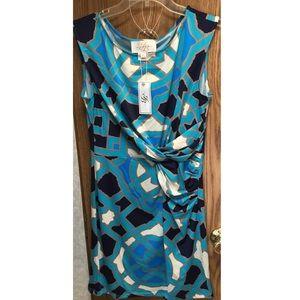 Julie Brown Dresses & Skirts - 💐FINAL PRICE💐🆕Julie Brown sz Lg Wrap Dress