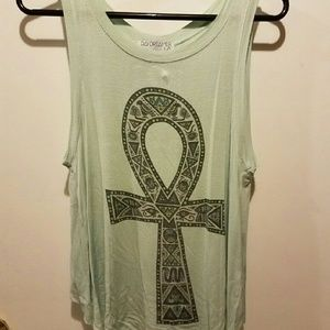 Urban Outfitters XS Open Back Tank Top