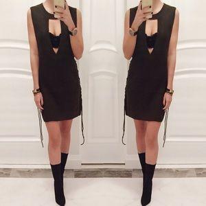 • Cassandra Sleeveless Knit Dress •