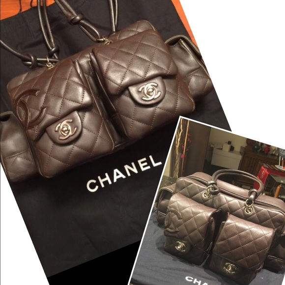bff9159f5c CHANEL Handbags - 🎏host pick🎏 Brown Chanel Cambon Reporter Bag