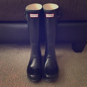Hunter rain boots (Tall)