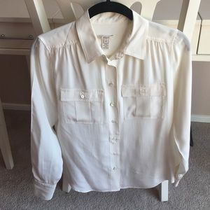 Silk J Crew blouse