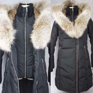 Mackage Fur Trimmed down coat.