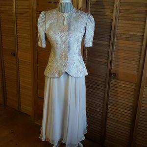 Liz Roberts Dresses & Skirts - Vintage 80s Semi-formal Two-piece Dress
