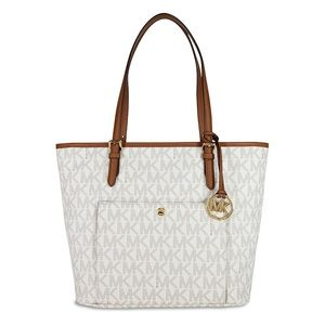 NEW Authentic Michael Kors Snap Pocket Large Tote