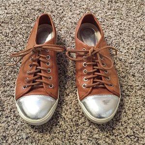 Michael Kors leather sneakers