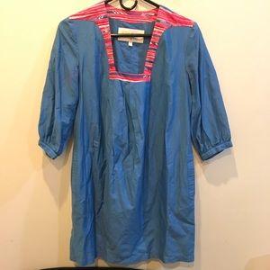 Anthropologie Dresses & Skirts - Anthropologie Lauren Moffatt Blue Shift Dress