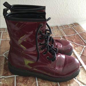 black poppy pacsun boots on poshmark