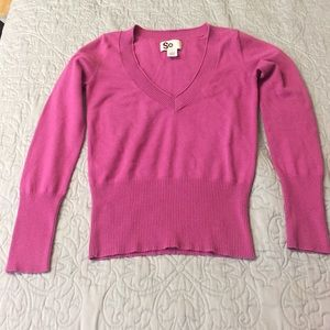 Sweaters - Bright pink sweater