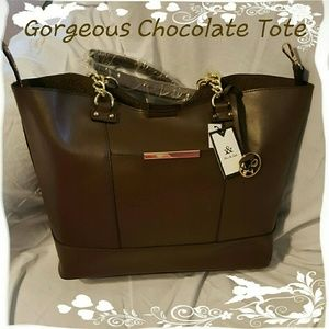 Five & Ash Handbags - SALE 🛍 Gorgeous Chocolate Tote
