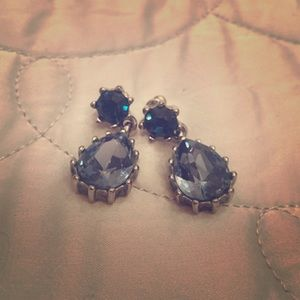 Betsey Johnson blue earrings