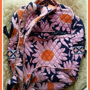 Vera Bradley Handbags - VERA BRADLEY RETIRED LOVES ME BACKPACK