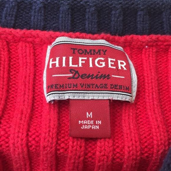 Tommy Hilfiger - Hilfiger Red Label Denim Crewneck Sweater from ...
