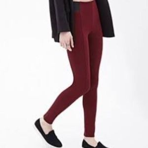 Red & Black Pants