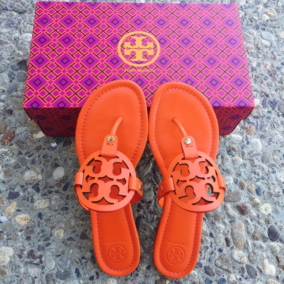 cdd352768  Tory Burch  POPPY RED Miller Sandals