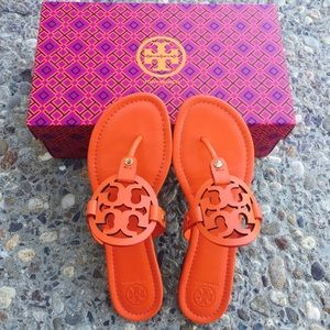 ✨✨{Tory Burch} POPPY RED Miller Sandals