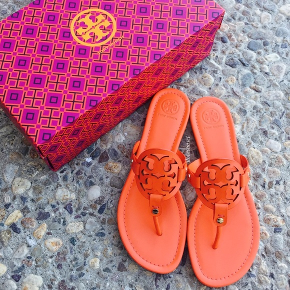 8aed2f428ec7 ✨🆕✨ Tory Burch  POPPY RED Miller Sandals