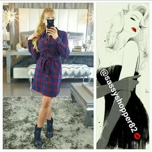 Dresses & Skirts - 💋LAST 3💋'BAILEY' Plaid print dress