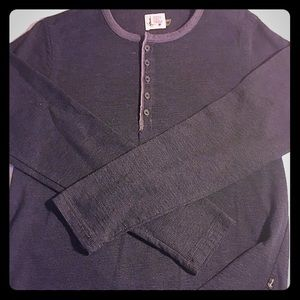 Howe Other - Men's Gray Henley Shirt