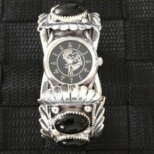 Apache Accessories - 2 X Posh 5th B-Day HP🎉Apache Black Onyx Watch