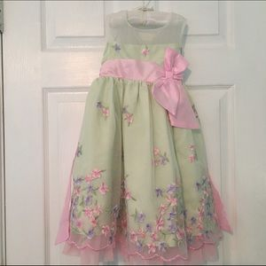 Other - Little girls Pink social dress Easter dream