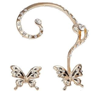 Jewelry - Butterfly cuff earrings