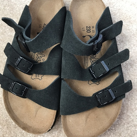 da4762232cdd Birkenstock Shoes - Black Birkenstock Florida