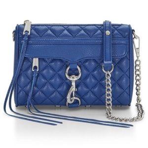Rebecca Minkoff Handbags - 💥 NWT Royal Rebecca Minkoff Quilted Mini Mac
