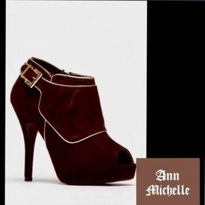 Anne Michelle Shoes - 🆕AnneMichelle🍒Verdict🍒ChocolateGold LiningBoot