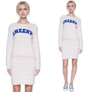 "English Factory Sweaters - 🆕""Cheeky"" Sweater Top"