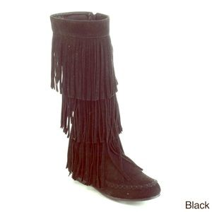 Shoes - New fall fringes boots by viviglam 🍂👢🍂👢Sale⚡️
