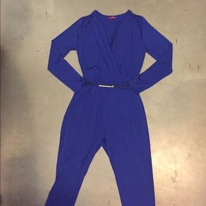 Pants - Electric Blue Jumpsuit