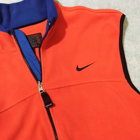 d53055614275f Men's - Vintage Nike ACG Fleece Zip Up Vest