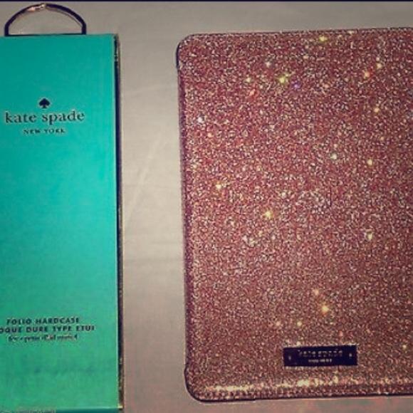 new concept 373c7 e0a8f Kate Spade folio case for iPad mini 4 in Rose Gold Boutique