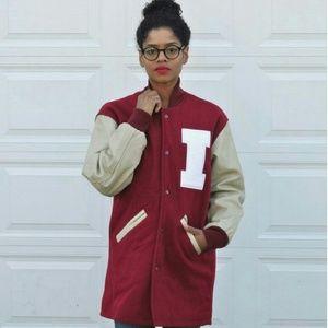 PREPPY Vintage 90s Varsity Jacket