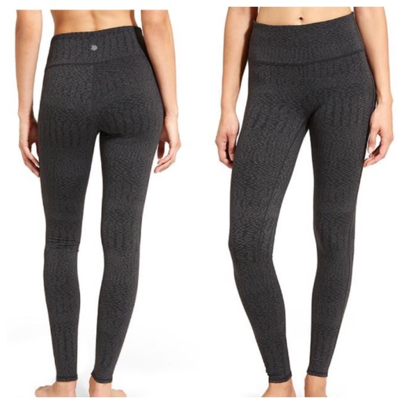 0f4de82505099 Athleta Pants | High Rise Heartbeat Chaturanga Tight | Poshmark