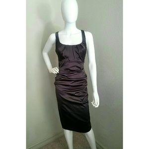 Silk Dark Silver Dress