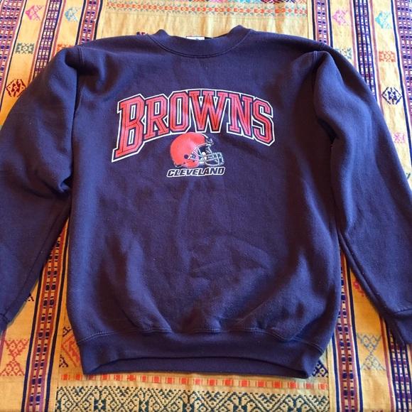 4386e8296 Vintage Cleveland Browns football nfl sweatshirt. M 581c0e8c13302a4de800ff56