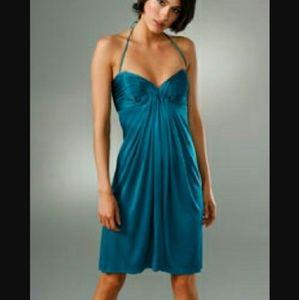 NWT Foley + Corinna Silk Shirred Corset Dress XS 0