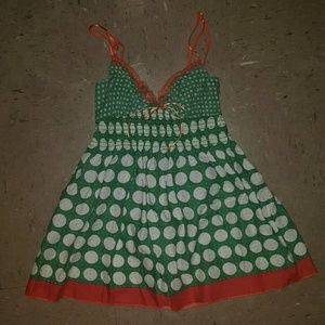 Super Cute Vintage Polka Dot Top Size Small