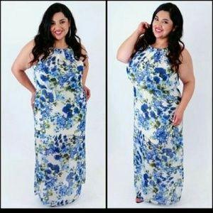 Dresses & Skirts - Plus size long floral dress 1x 2x