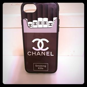 "Accessories - ""Chanel Smoking Kills"" iPhone Cellphone Case"