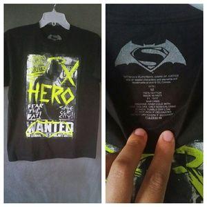 Batman Other - New Batman Wanted tshirt